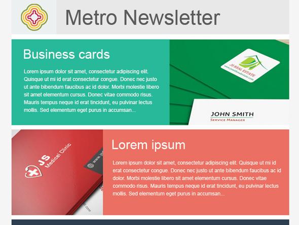 Metro Newsletter