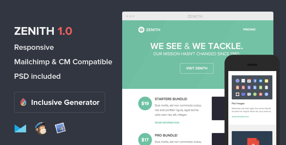 Zenith Email Newsletter Template