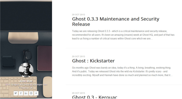 Just 30 Beautiful Ghost Themes