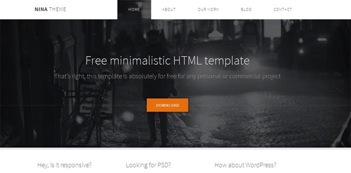Nina HTML5 Template