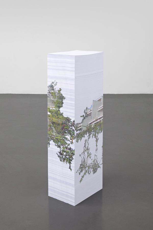 Modern Paper-Stack Monoliths by Aleksandra Domanovic