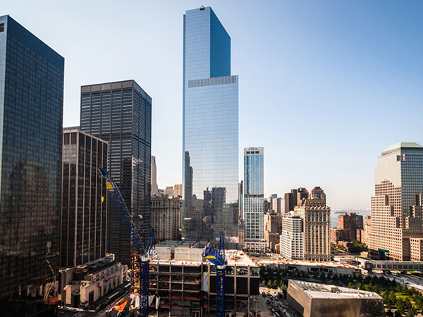 The first '4 World Trade Center' opens in New York by Fumihiko Maki