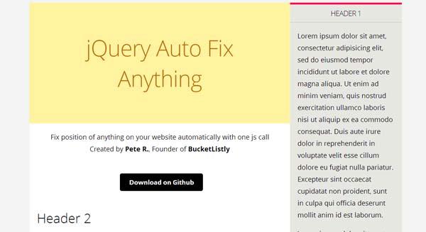 Auto Fix Anything jQuery Plugin