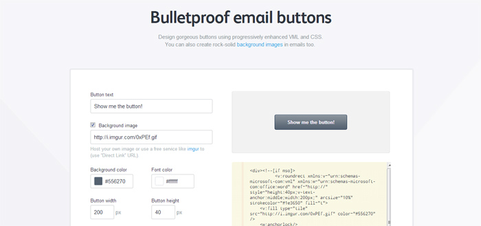 Bulletproof Email Buttons