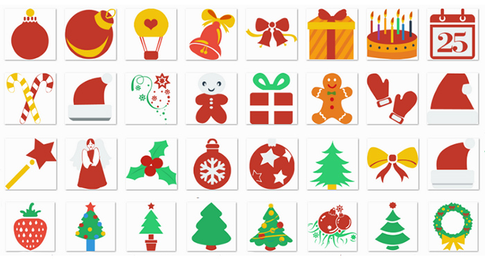 Christmas Icons Sets