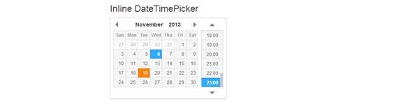 Date Time Picker jQuery Plugin