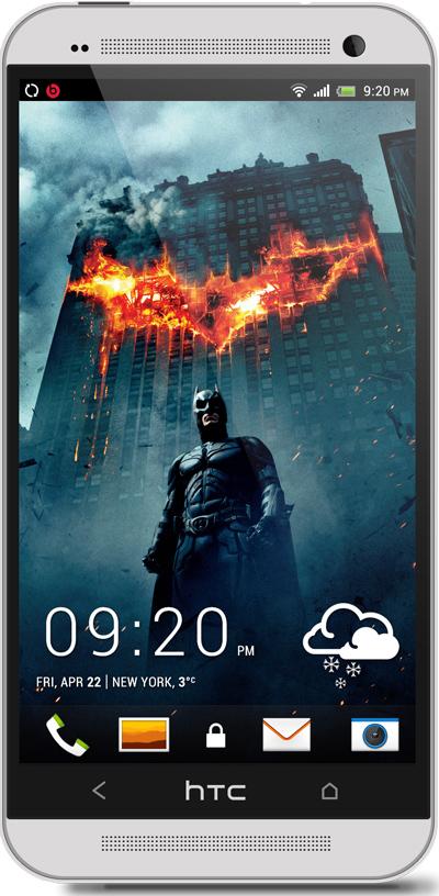 The Dark Knight HTC One Wallpaper