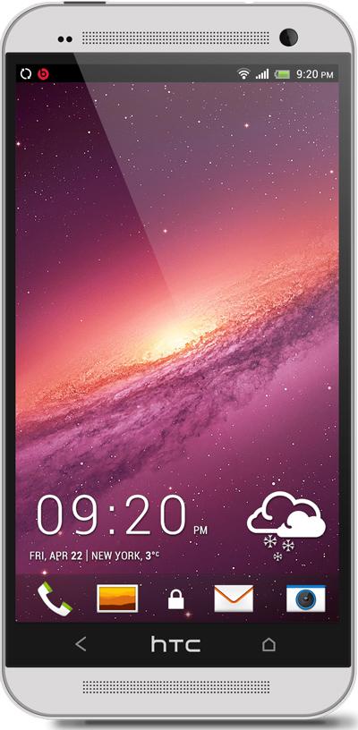 Galaxy HTC One Wallpaper