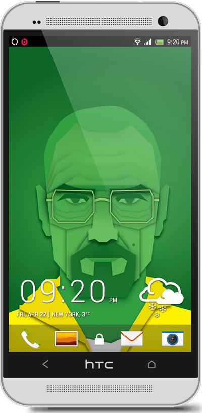 Heisenberg HTC One Wallpaper