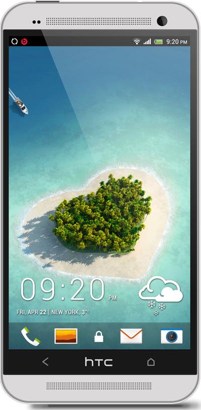 Love Island HTC One Wallpaper