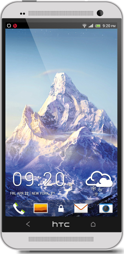 Mountain HTC One Wallpaper