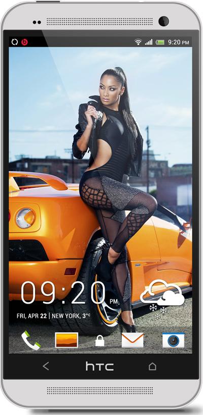 Nicole Scherzinger HTC One Wallpaper