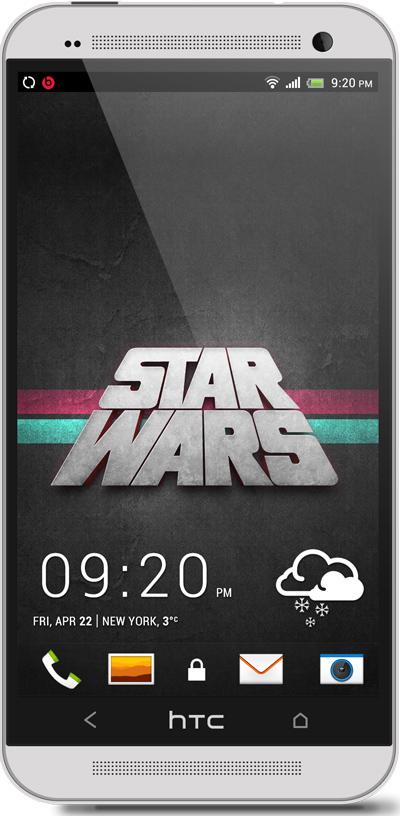 Star Wars HTC One Wallpaper