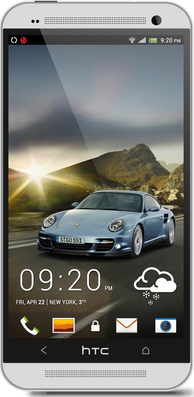 Porsche 911 HTC One Wallpaper