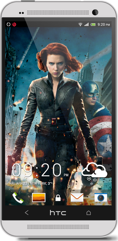 The Avengers HTC One Wallpaper