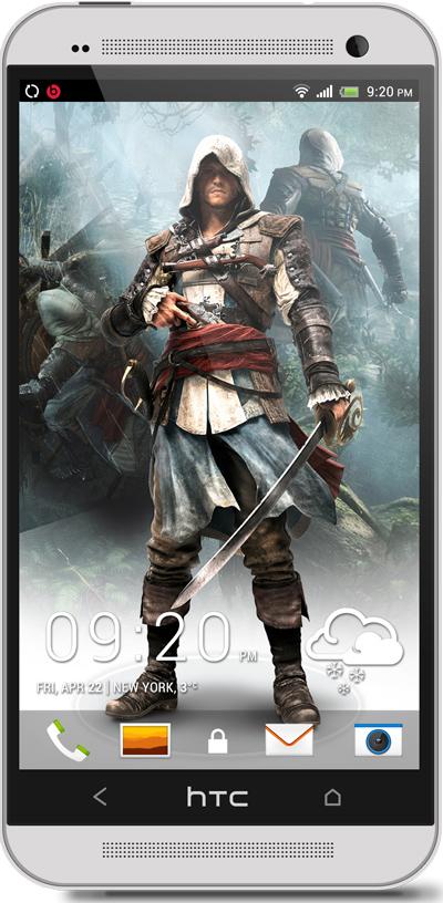Assasins Creed HTC One Wallpaper