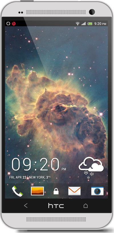 Carina  Nebula HTC One Wallpaper