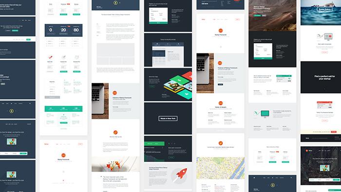 website framework design
