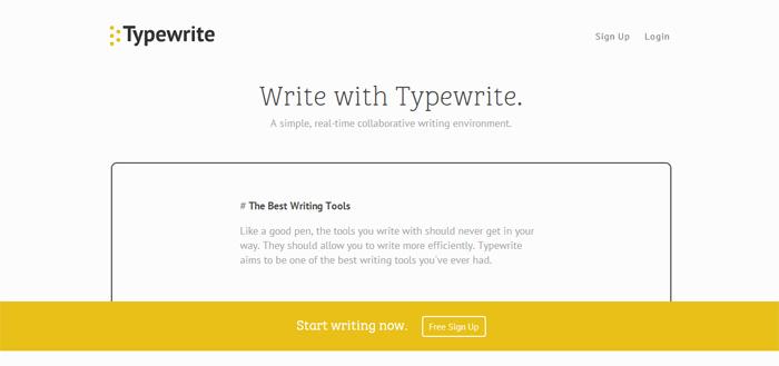Typewrite