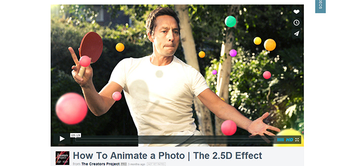 How to animate a photo - The 2.5D effect