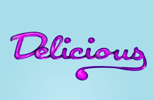 020_Delicious_Text_Effect