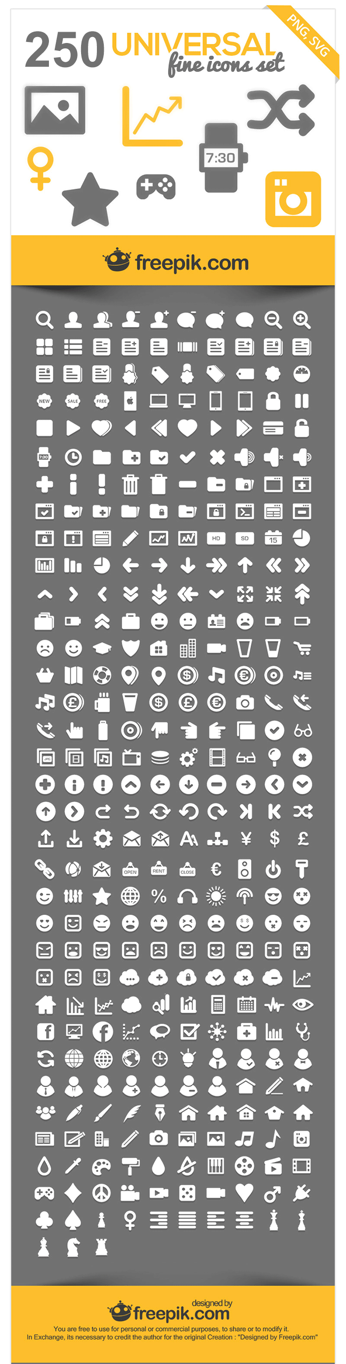 Universal Icons Pack
