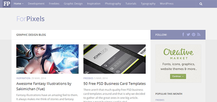 What Should Be On A Graphic Design Artists Home Page