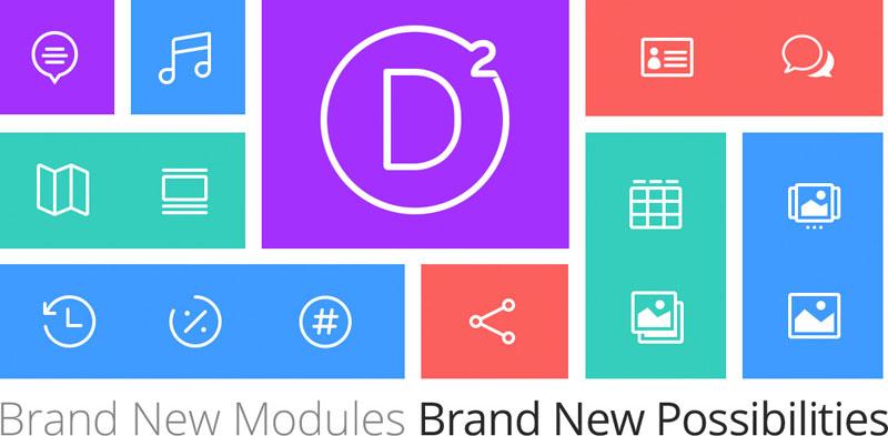 The new WordPress theme, Divi