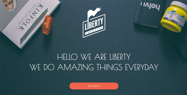 Liberty - Responsive One Page Template