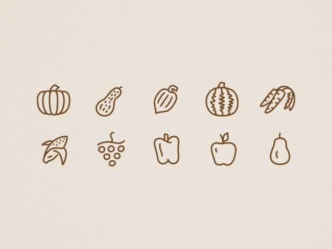 icons-autumn-food