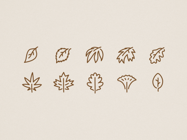 icons-autumn-leaves