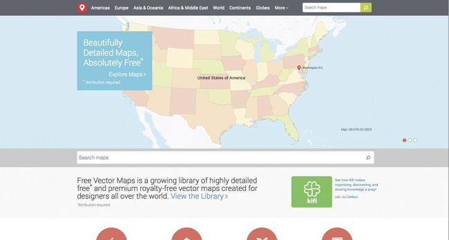 inspiration-interactive maps|Free Vector Maps | Royalty-Free Vector Maps