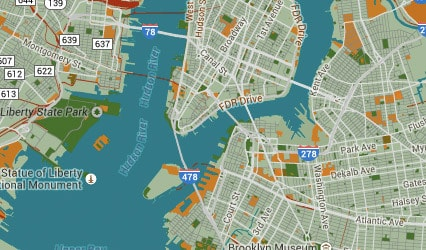Add Amazing Custom Styles To Google Maps With Snazzy Maps - Style a google map