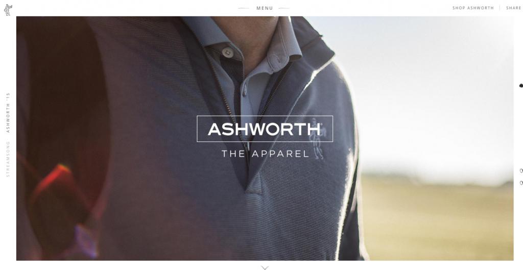 daily inspiration Ashworth GOLF MAN 5