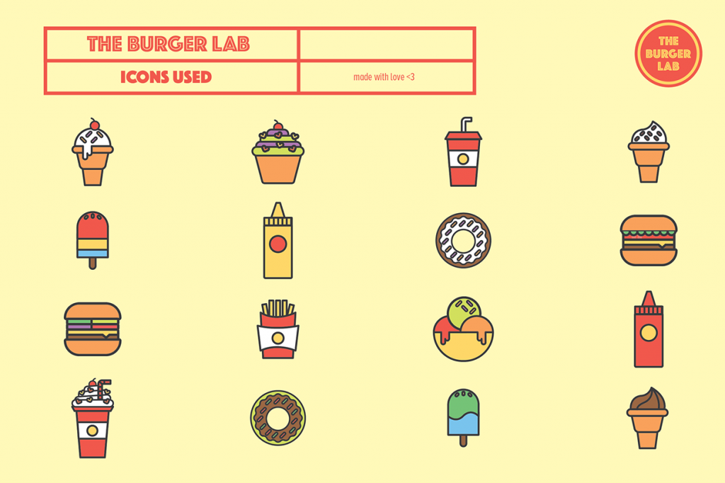 the burger lab icons