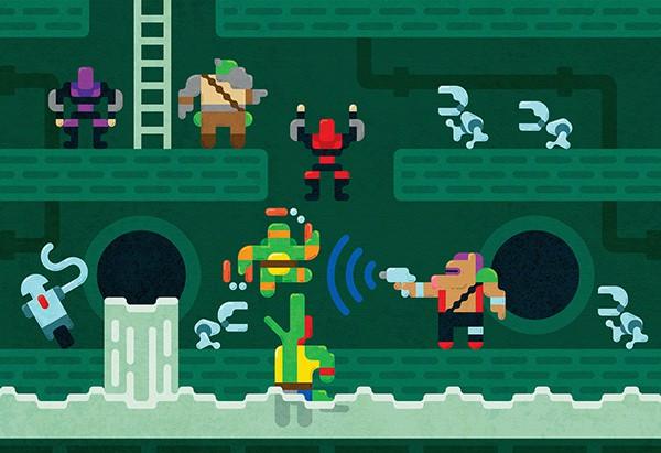 daily inspiration - ninja turtles