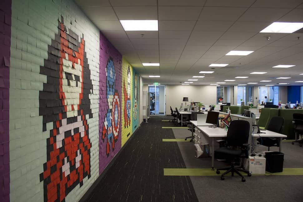 daily inspiration post-it notes