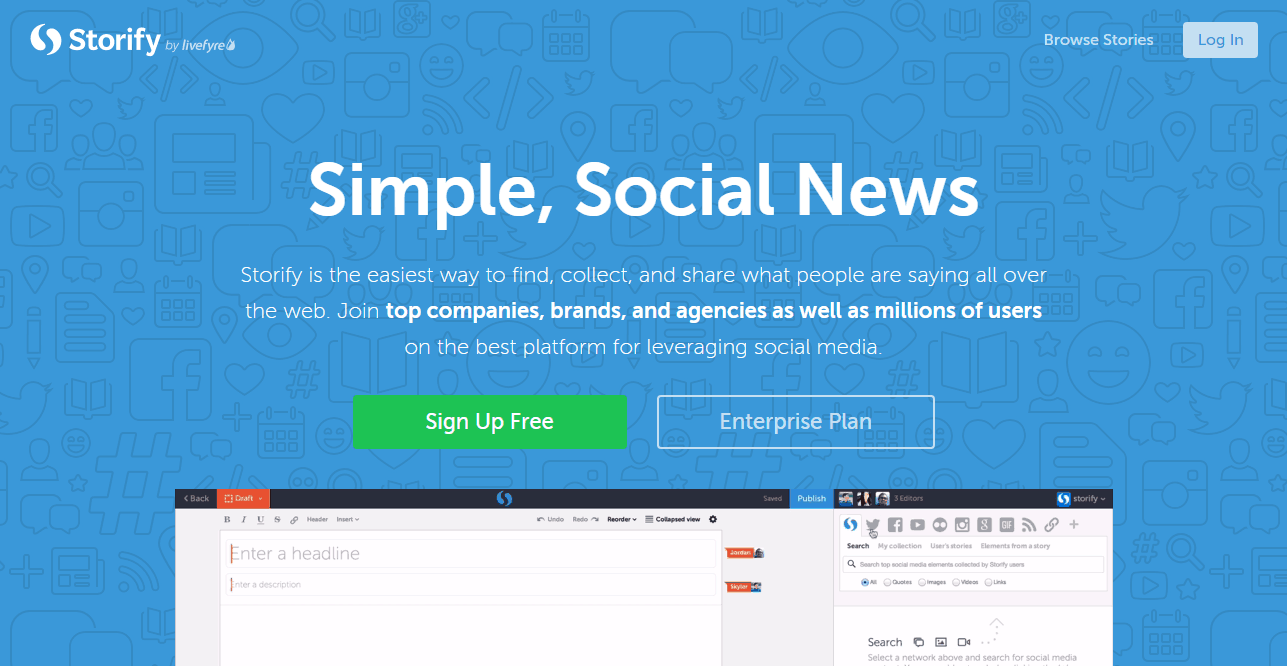 April Design Resource Roundup: Storify · Make the web tell a story