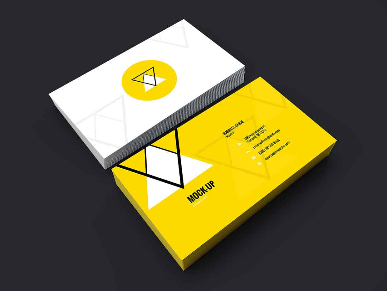 Daily Freebie: Business Card Showcase Mockup (PSD)