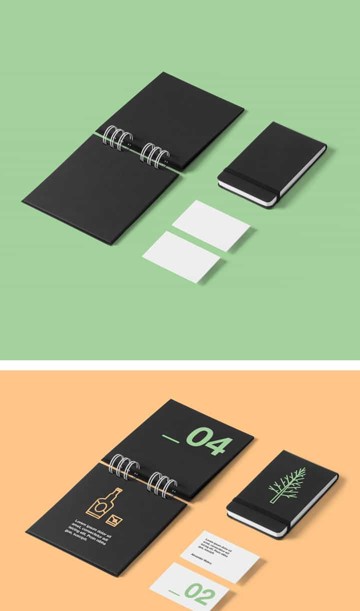 Daily freebie: High Quality Stationery Mock-Up (PSD)