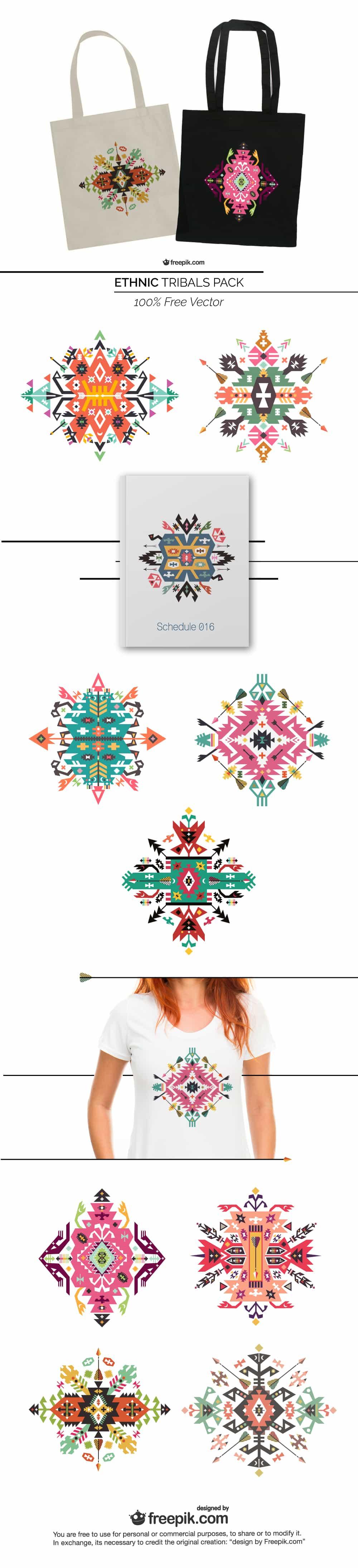 Ethnic Tribal Designs