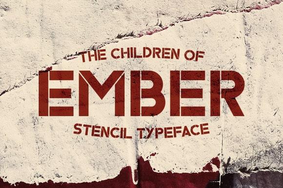 ember typeface