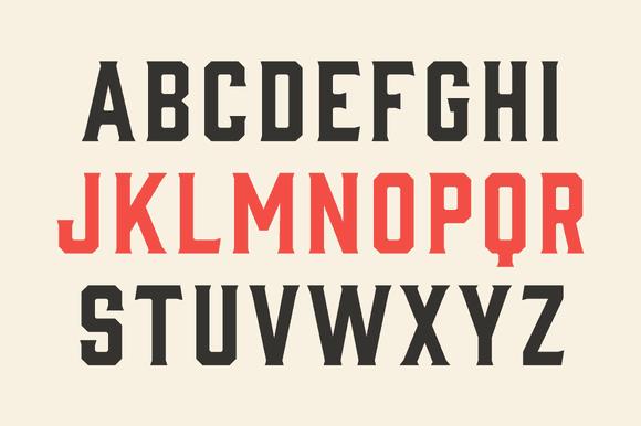 gin typeface