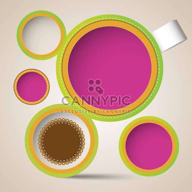 Vector set of lace frames - http://www.CannyPic.com