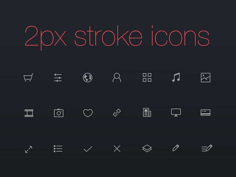 daily freebie super clean icons for everyday life