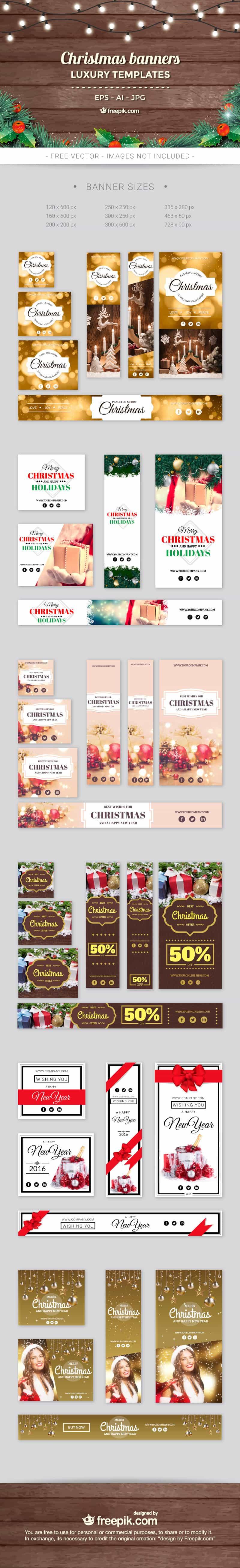 cld christmas freebies banners