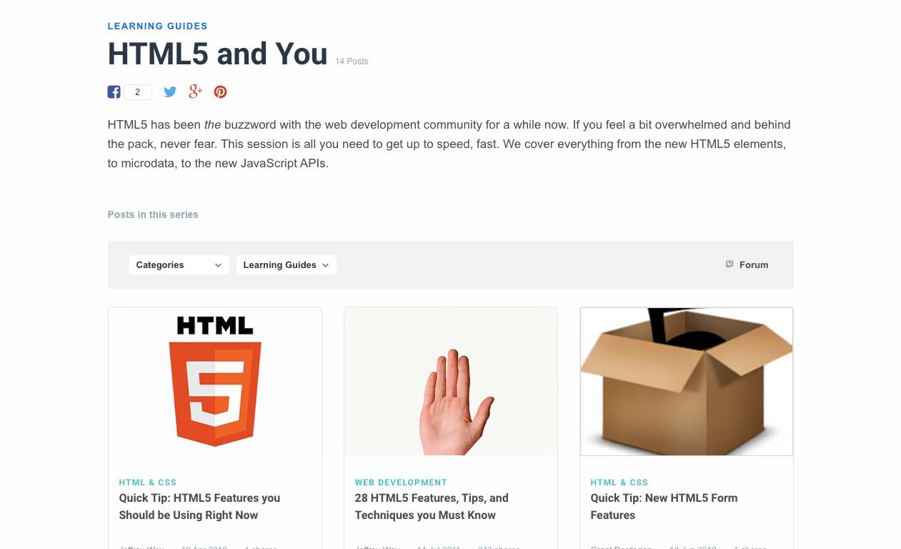 HTML5 and You Envato Tuts Code Tutorials