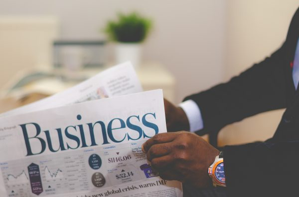 Newspapers about business