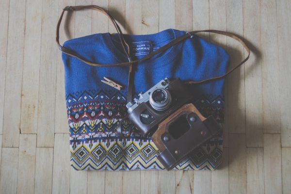 Vintage shirt and photography