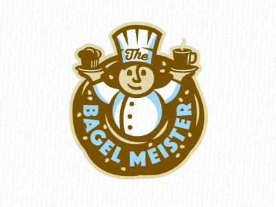 Bagel chef logo